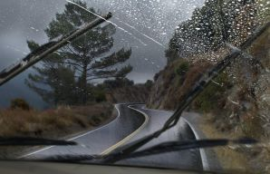 Driving safety in wet weather
