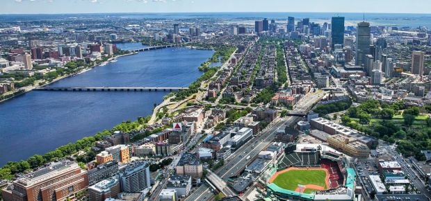 awesome view of Boston