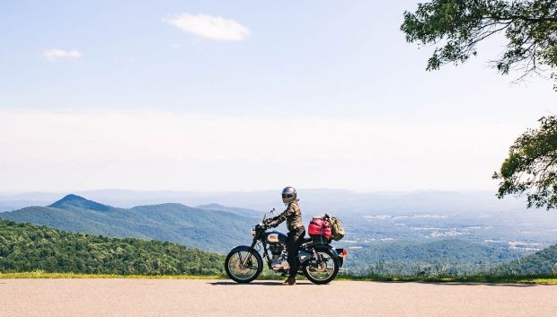 Blue Ridge Parkway motorcycle routes