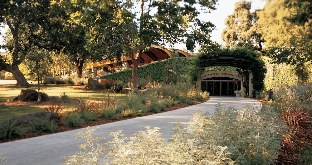 Domaine Chandon is in Yountville, California
